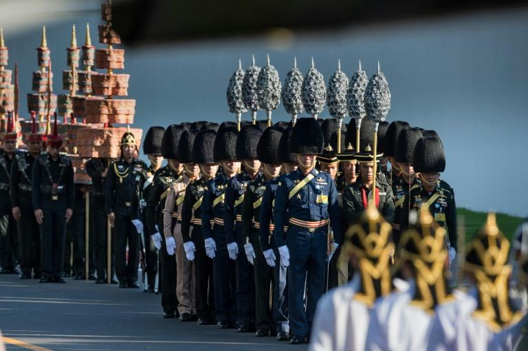 Pomp and pageantry as Thailand rehearses late King's funeral