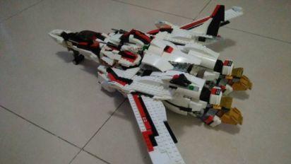 香港LEGO高手製作 《Macross F》VF-25可變三型態