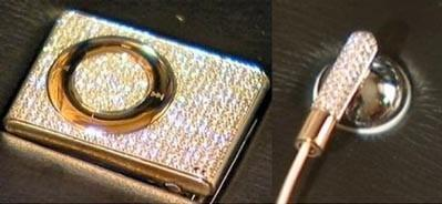 Diamond-studded iPod shuffle to be auctioned in London
