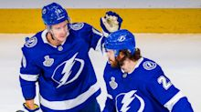 Tampa Bay Lightning start fast, hang on for series-tying win against Dallas Stars