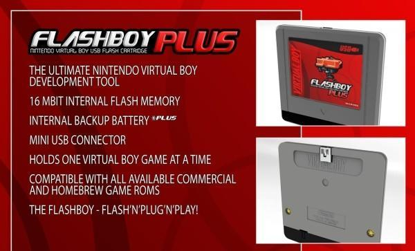 Flashboy Plus revives Nintendo's Virtual Boy, literally one game at a time