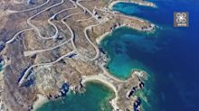 Karystos: The turquoise cape with winding roads and minimal houses