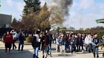 Reedley High School students evacuated after fire