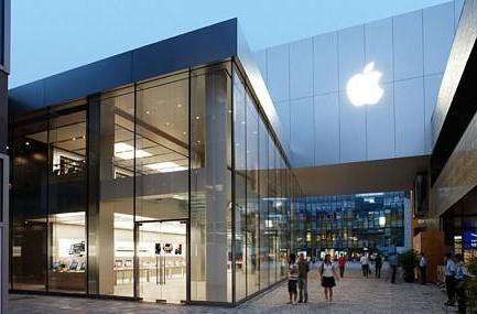 Apple's tepid retail growth in China