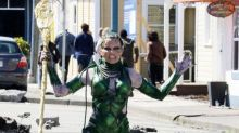 Superheroes Spotted On Set ... Looking Not-So-Superheroic
