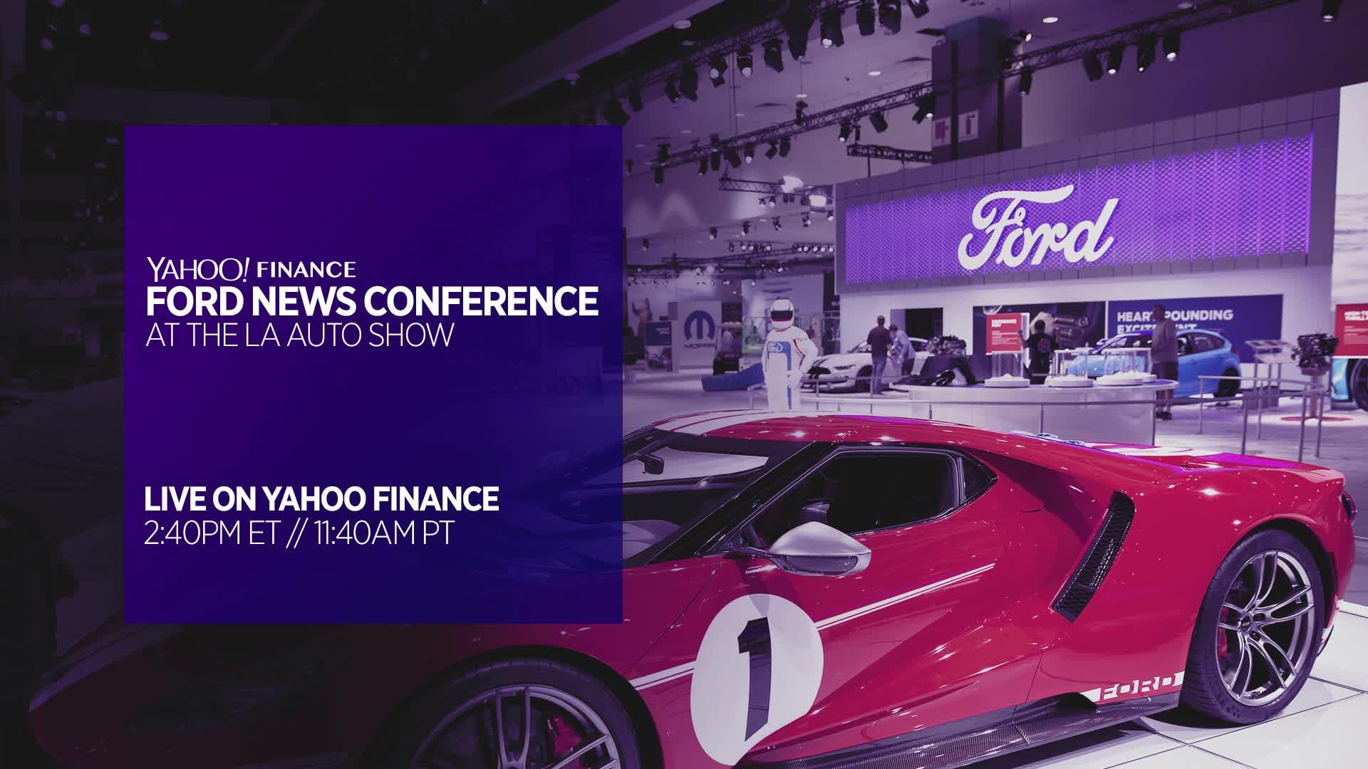 Watch Ford at LA Auto Show! [Video] on msn finance, google finance, microsoft finance, windows 8 finance,