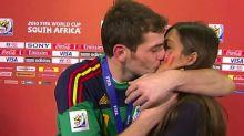 10 años del beso de Iker Casillas y Sara Carbonero en el Mundial: su historia de amor en imágenes