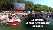 Paris Plages: le cinéma flottant fait le plein