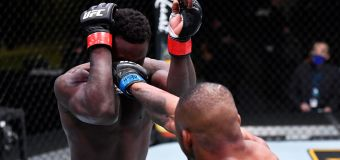 'That was scary': UFC star delivers frightening KO