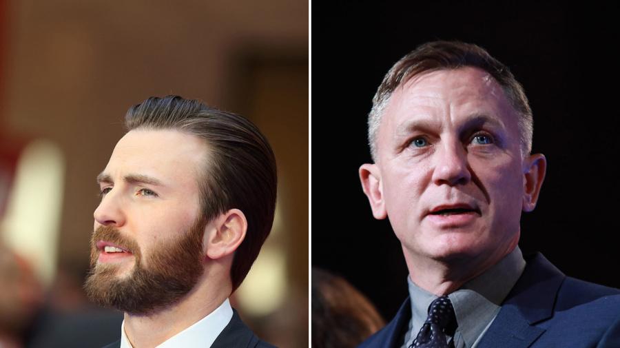 Captain America auf Seite von James Bond: Chris Evans verteidigt Kollege Daniel Craig