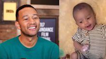 Chrissy Teigen Posted a Video of Baby Miles and He Looks *Exactly* Like His Dad, John Legend