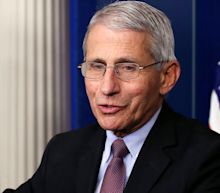 Fauci wears a mask as a 'symbol' of what 'you should be doing' amid coronavirus pandemic