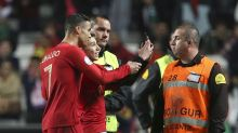 Portugal held by Ukraine on Ronaldo's return