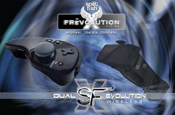 Splitfish Dual SFX Evolution and Frag Pro PS3 controllers announced, debut set for E3