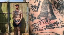 Meet the man giving himself a new tattoo every day during lockdown