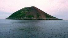 Los increíbles cielos púrpuras que ha dejado la erupción de un volcán ruso