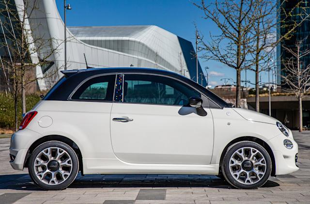 There's a Google-branded Fiat 500 range now