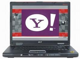 Yahoo to become default search engine on all Acer notebooks