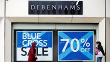 Sports Direct considers 61.4 million pounds bid for Debenhams