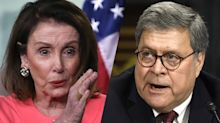 'That's a crime': Pelosi accuses Barr of lying to Congress