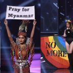 Political statements take center stage at Miss Universe, with pageant's blessing: 'We will always support a woman for using her voice'