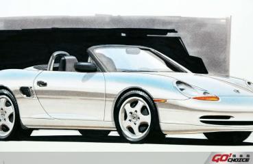 於底特律車展以概念車之姿接受世人考驗 Boxster 25周年特輯 Boxster的起源