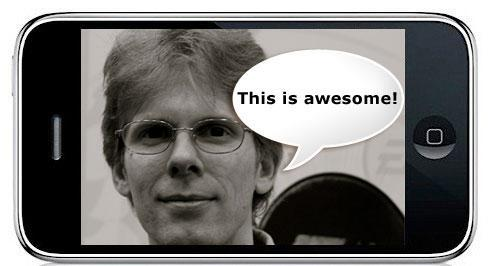 """Carmack says iPhone is """"more powerful than a Nintendo DS and PSP combined"""""""