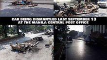 """""""Ang Probinsyano"""" team finally dismantles prop car"""