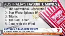 Australia's favourite movies revealed