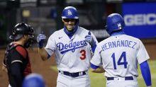 Bellinger sits, Dodgers still roll to 11-2 win over D-backs