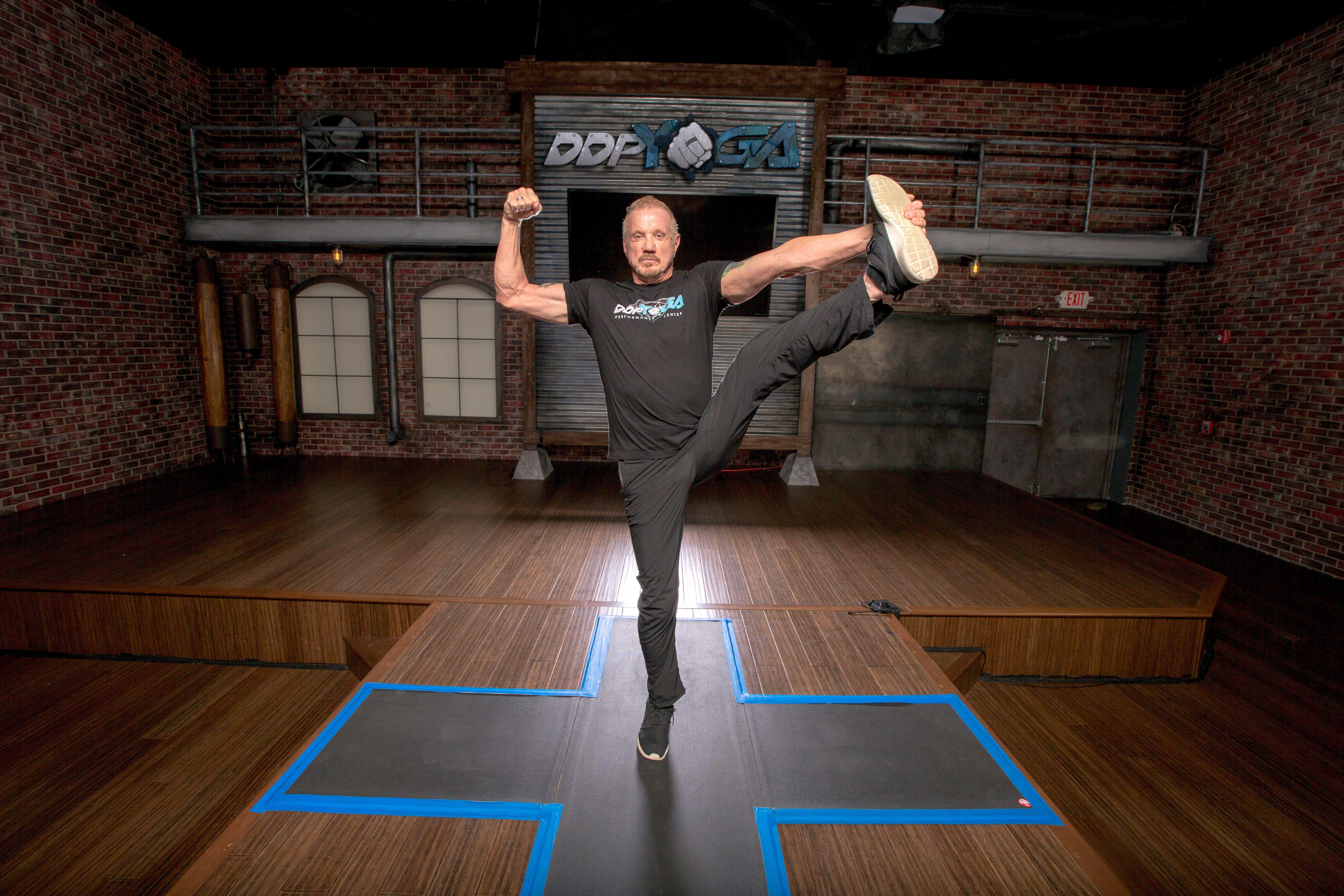 From the wrestling mat to the yoga mat: The story of DDP Yoga