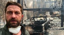 Gerard Butler and Robin Thicke, who lost homes in California fires, take stage at star-studded benefit for wildfire relief