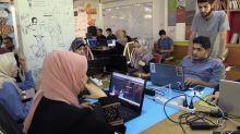 Gaza: La inesperada sede de la mayor incubadora tecnológica palestina