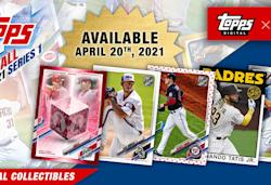 Topps debuts its first NFT baseball card collection