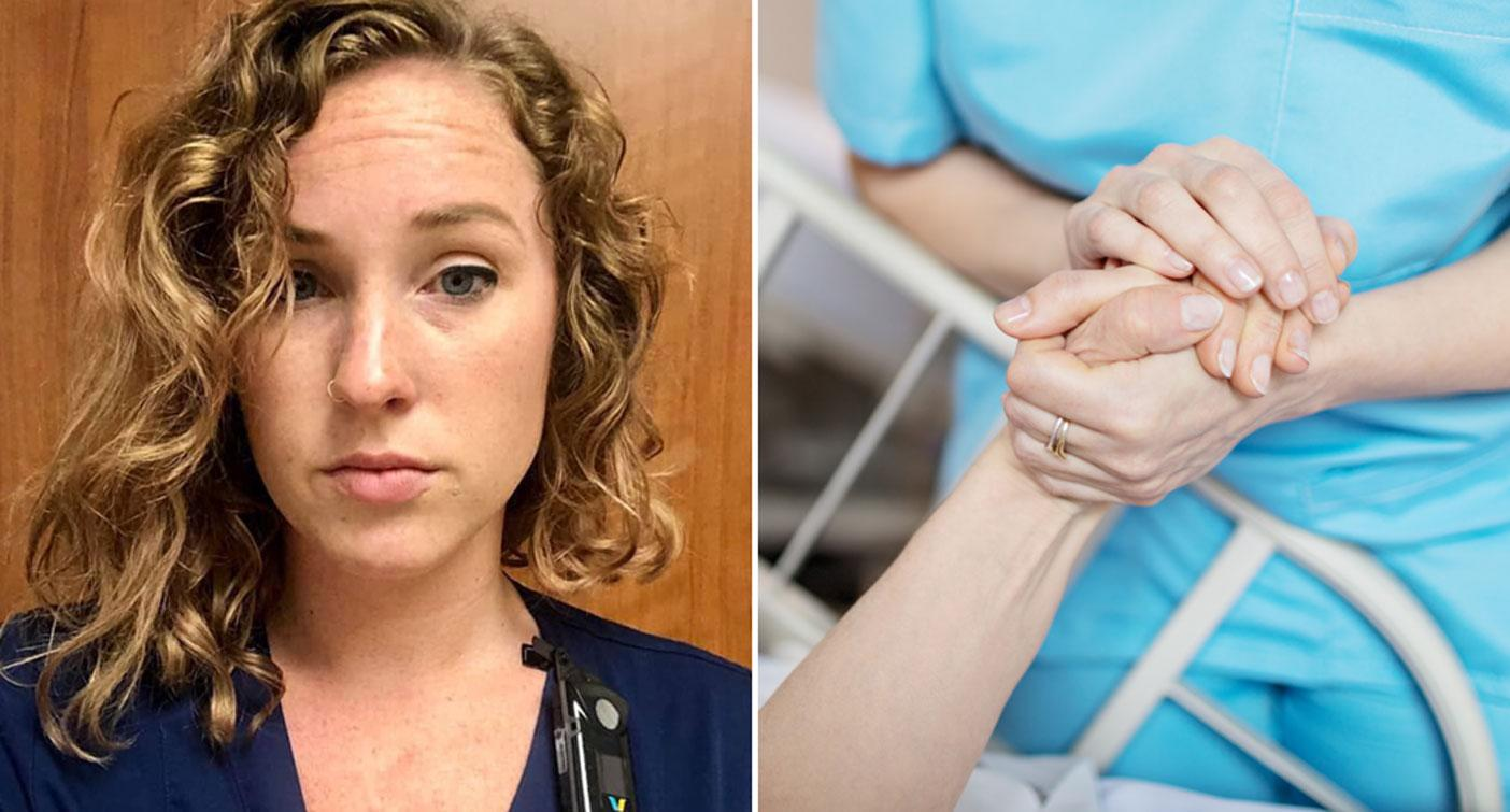 'This is the face of defeat': Nurses' open letter garners support