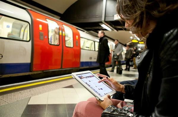 Virgin Media WiFi in London goes deeper underground, 41 stations now hooked up