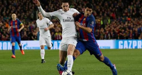 Foot - C1 - PSG - Adrien Rabiot (PSG) confirme qu'il était malade contre le Barça