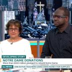 'GMB' viewers defend Notre Dame restoration after breakfast show debates 'virtue signalling' donations