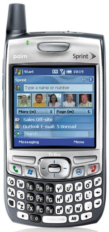 Treo 700wx launches on Sprint