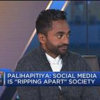 My kids get 'no screen time whatsoever,' says Silicon Valley investor Chamath Palihapitiya
