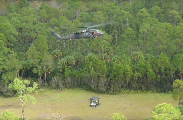 Helicopter and six-wheeler make a mean, crewless recon team