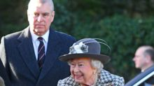 Queen appears with Prince Andrew for first time since he stepped down from royal duties