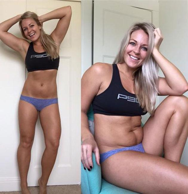 Fitness model shares unflattering photos to teach powerful lesson