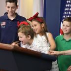 Ivanka Trump on brother Barron's White House playdates with his nieces and nephews