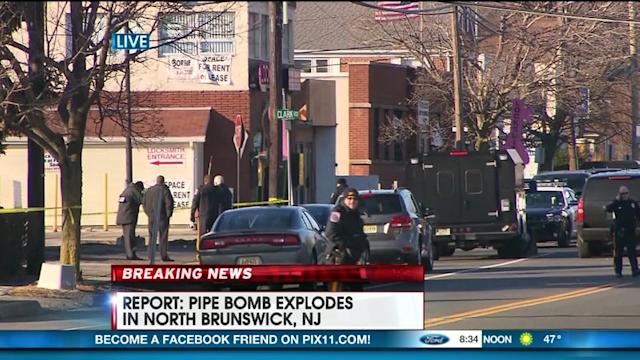 Report: Small Pipe Bomb Explodes In New Jersey