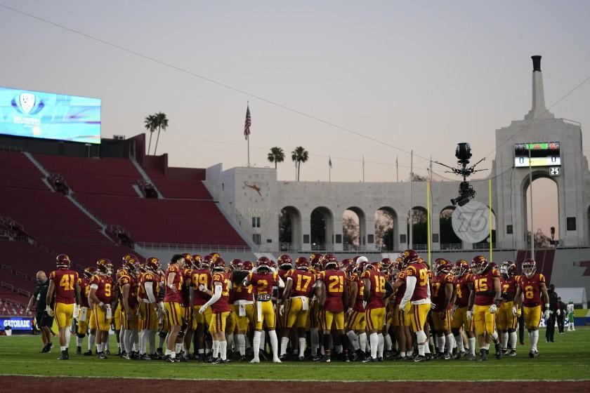 How L.A. County COVID rules could adversely impact USC and UCLA football teams