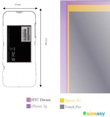 FCC outs HTC Dream's dimensions: it's smaller than the iPhone 3G