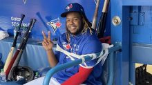 Vladdy's day off: Blue Jays tape Guerrero Jr. to bench to prevent antics