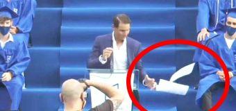 'Not good': Hilarious Nadal speech blooper goes viral