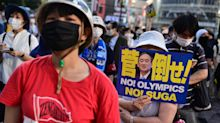 'Shame of the world': Hundreds stage anti-Olympics rally in Tokyo ahead of opening ceremony